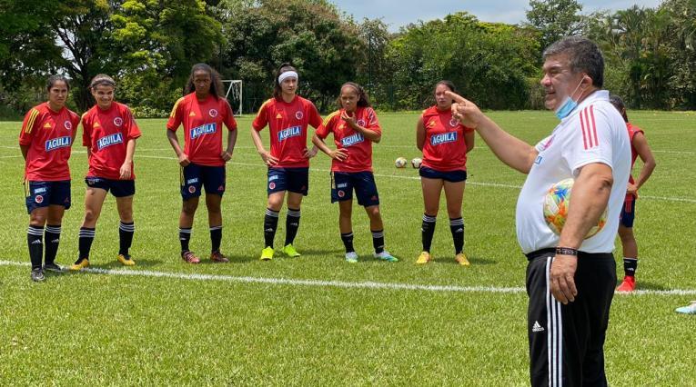 Selección Femenina sub-20 en Cali