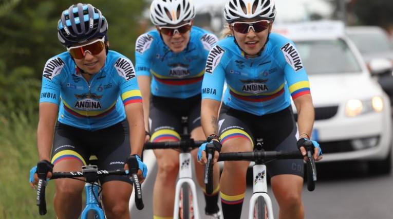 Selección Colombia femenina ciclismo