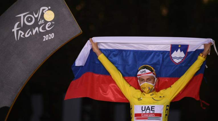 Tadej Pogacar- Tour de Francia
