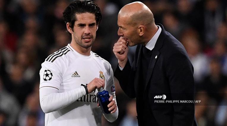 Isco, Zidane