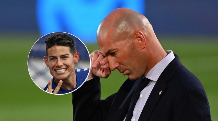 Zinedine Zidane, James Rodríguez
