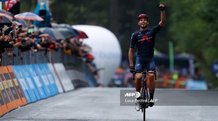 Filippo Ganna, ciclista del Ineos