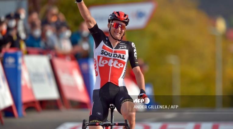 Tim Wellens, ciclista del Lotto Soudal