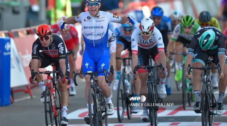 Sam Bennett en la Vuelta a España