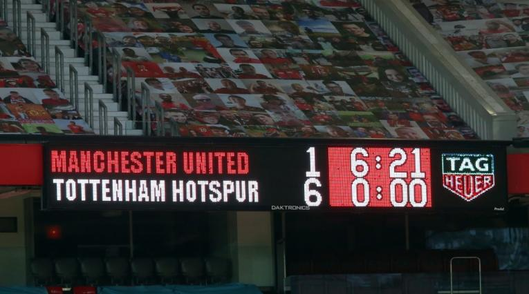 Manchester United vs Tottenham, Premier League