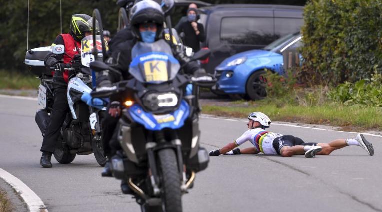 Julian Alaphilippe, Tour de Flandes
