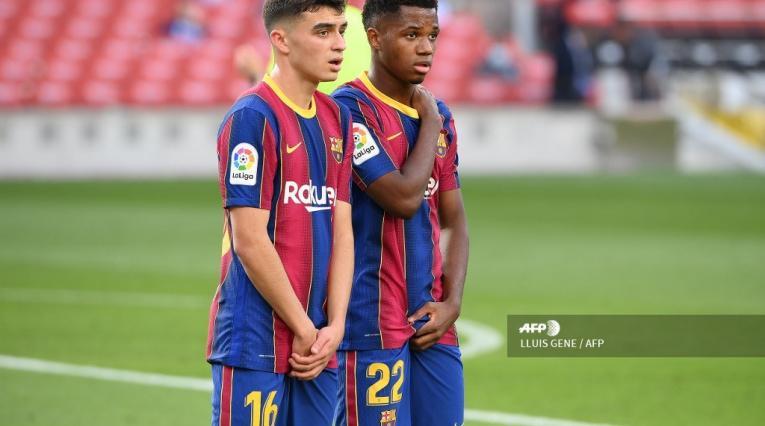Pedri, Ansu Fati, FC Barcelona