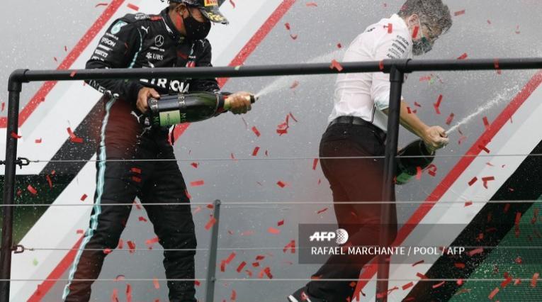 Lewis Hamilton, piloto de Mercedes