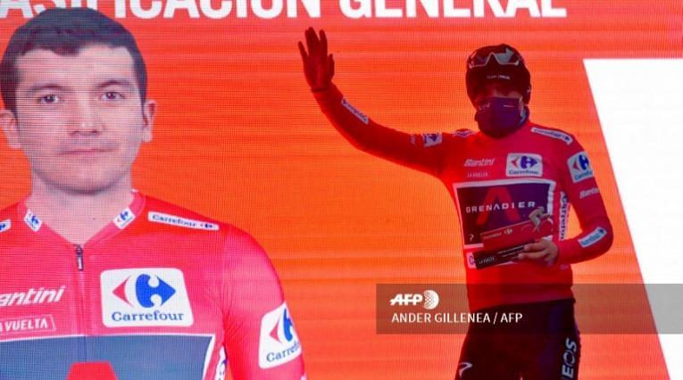 Richard Carapaz, nuevo líder de la Vuelta a España