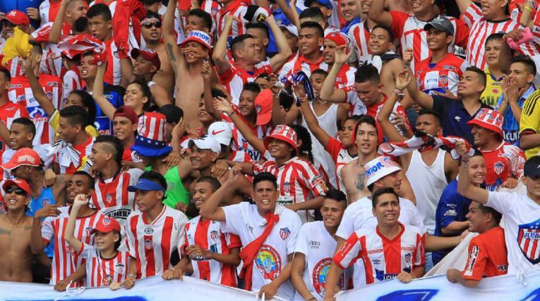 Hinchas de Junior de Barranquilla