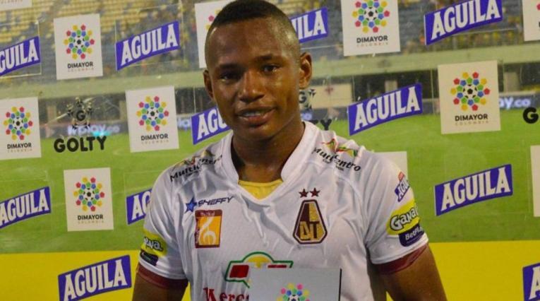 JamintonCampaz, jugador del Deportes Tolima