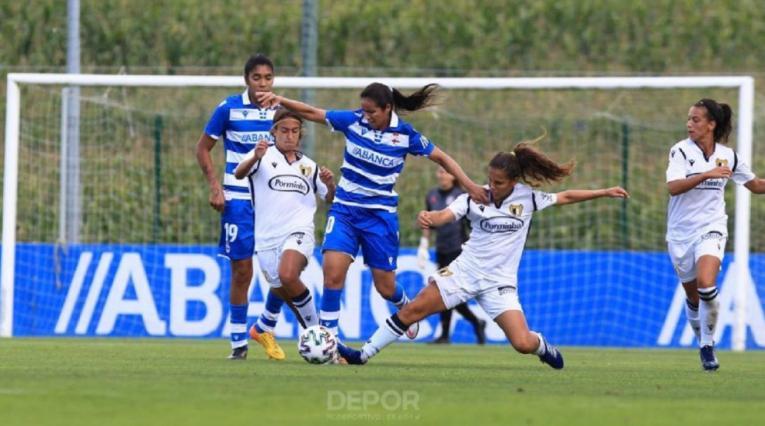 Lady Andrade en Deportivo La Coruña