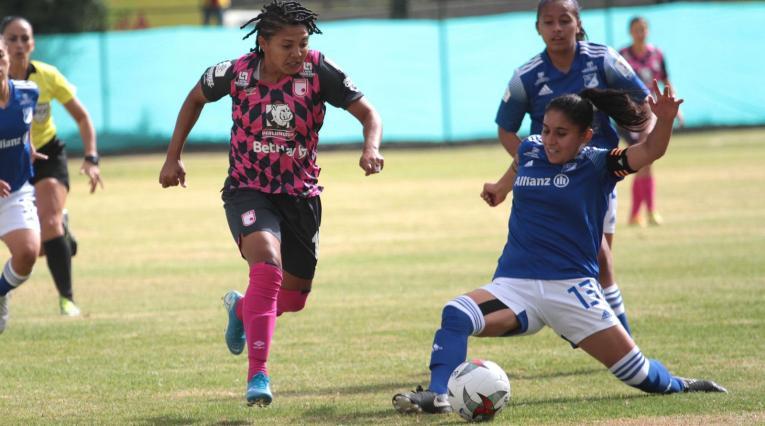 Santa Fe vs Millonarios - Liga Femenina