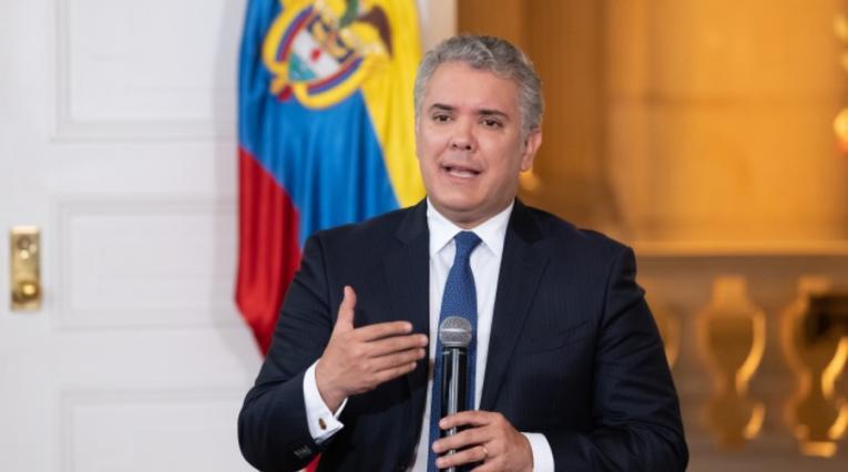 Iván Duque, Cuarentena
