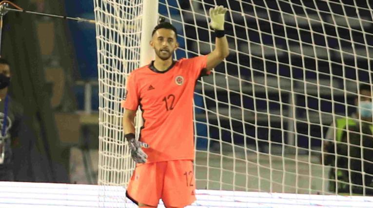 Camilo Vargas, arquero de la Selección Colombia