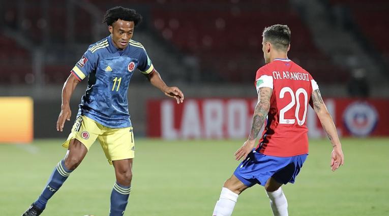 Juan Guillermo Cuadrado, Colombia vs Chile
