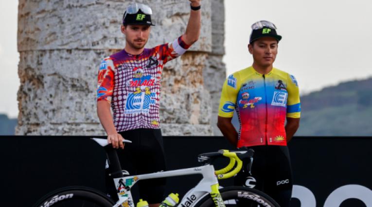 Uniforme Education First, Giro de Italia 2020