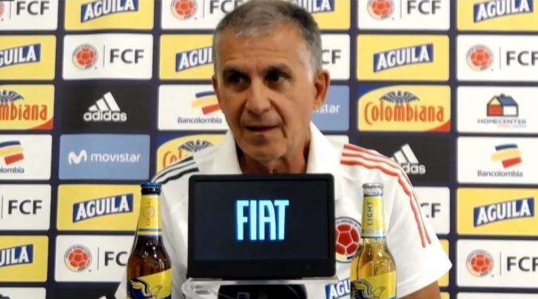 Carlos Queiroz, DT Selección Colombia