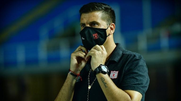 Juan Cruz Real, técnico del América de Cali