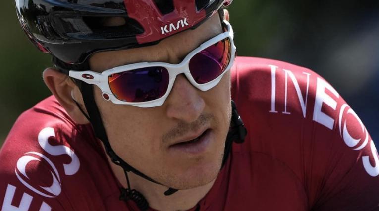 Geraint Thomas, ciclista británico del Ineos