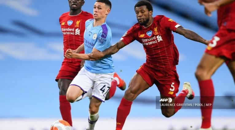 Manchester City vs Liverpool, Premier League