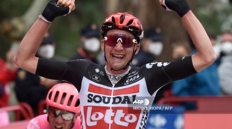 Tim Wellensganó la etapa 14 de la Vuelta a España