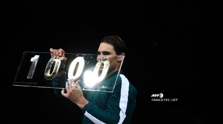 Rafael Nadal, triunfo 1000 en París
