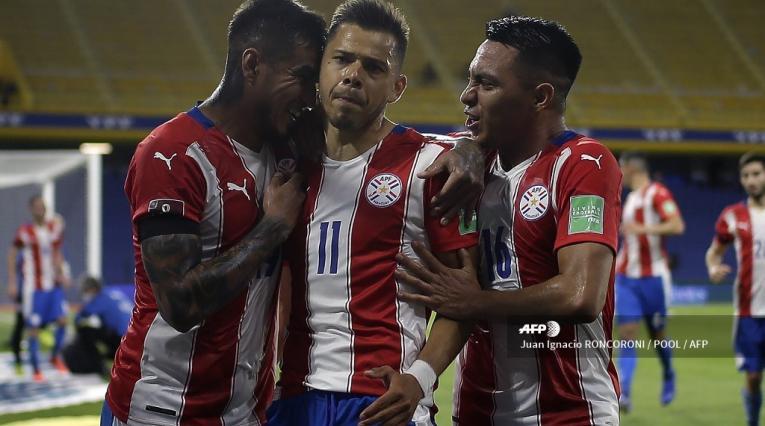 Selección de Paraguay, 2020