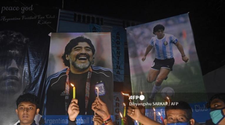 Diego Maradona, homenajes