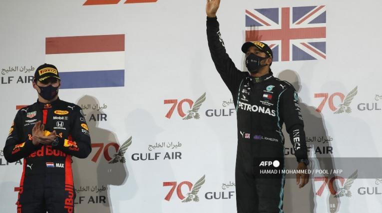 Lewis Hamilton - GP de Bahrein
