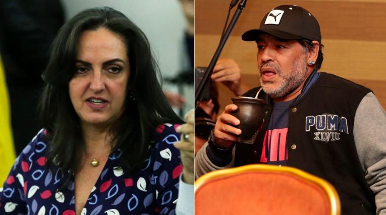 María Fernanda Cabal, Diego Maradona
