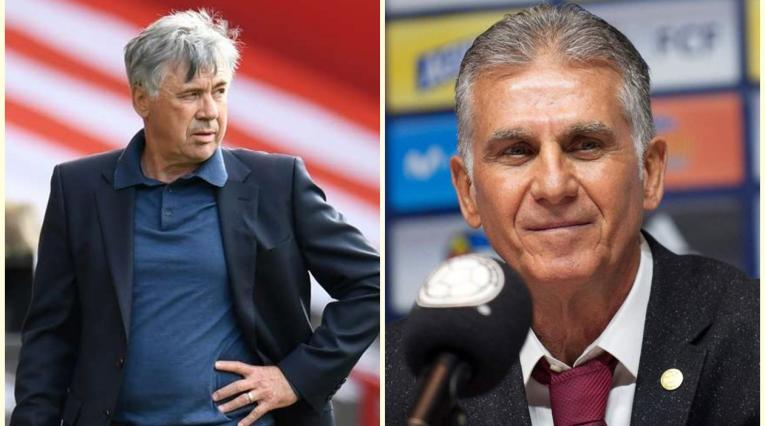 Ancelotti y Queiroz