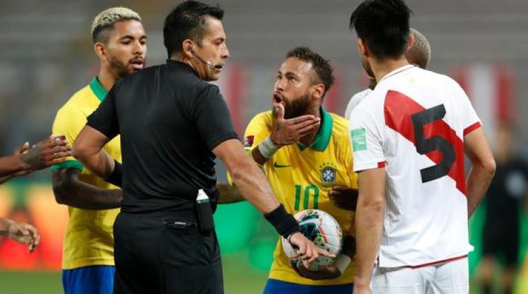 Neymar - Brasil vs Perú