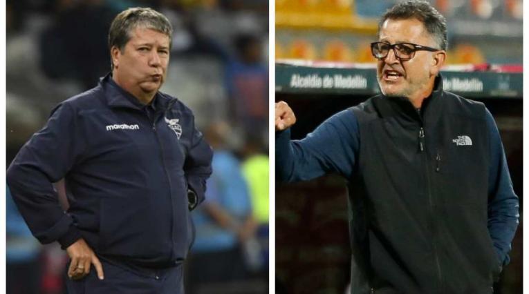 Bolillo Gómez y Juan Carlos Osorio