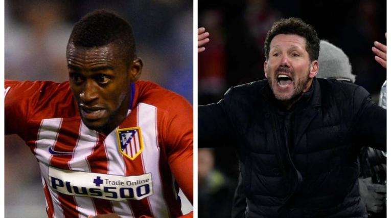 Jackson Martínez y Diego Simeone - Atlético de Madrid