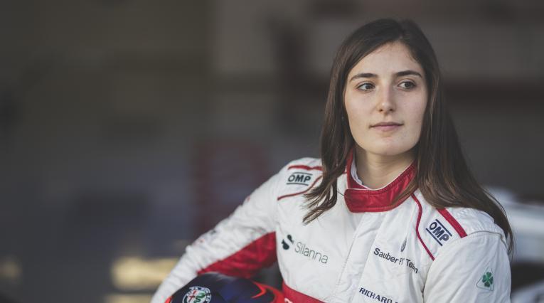 Tatiana Calderón, piloto colombiana