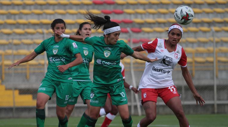 La Equidad vs Santa Fe; Liga Femenina