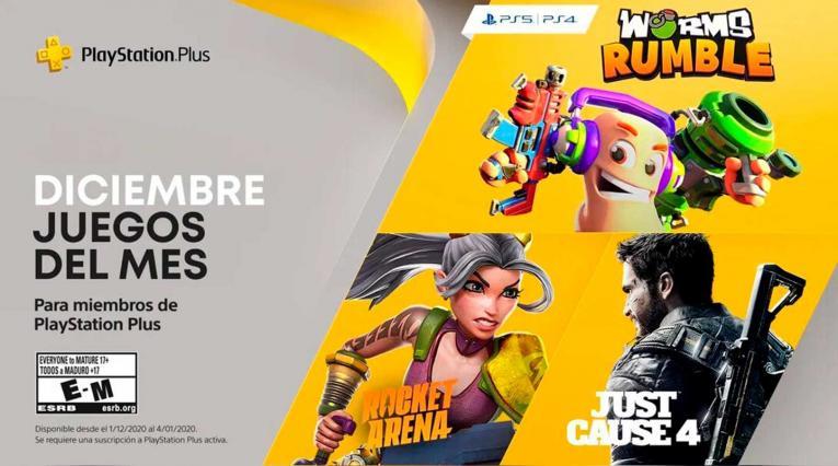 juegos PS+ diciembre