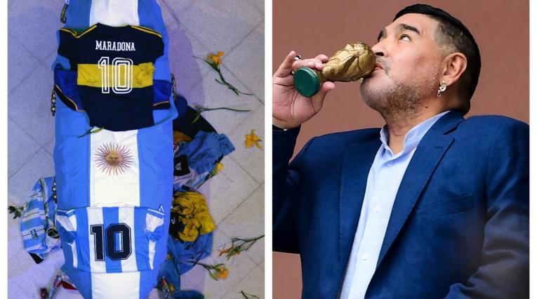 Velorio de Maradona