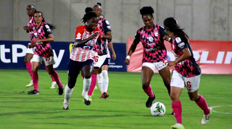 Junior vs Santa Fe - Liga femenina