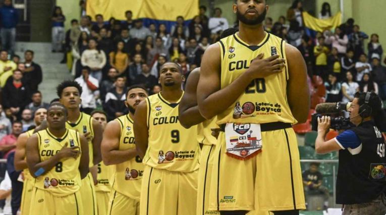 Selección Colombia de baloncesto