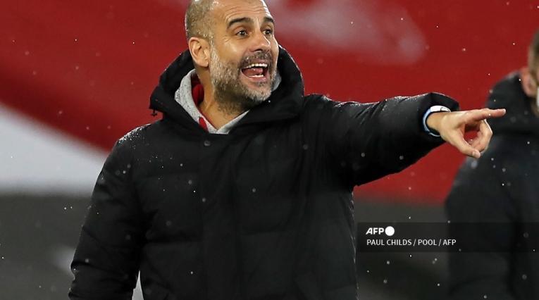 Pep Guardiola, técnico de Manchester City
