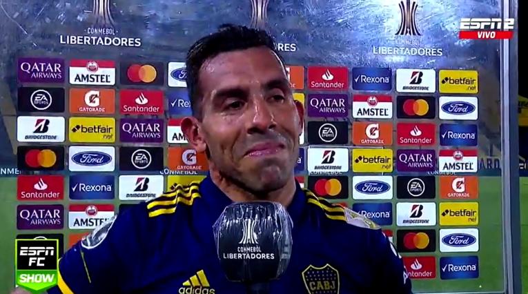 Carlos Tévez, Boca Juniors