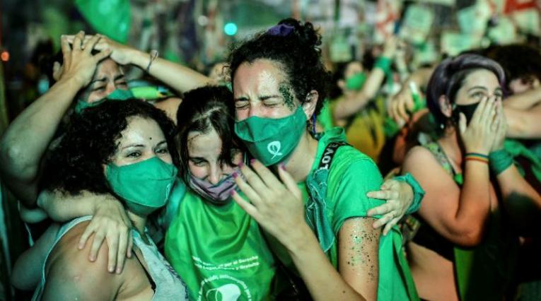Legalización aborto en Argentina