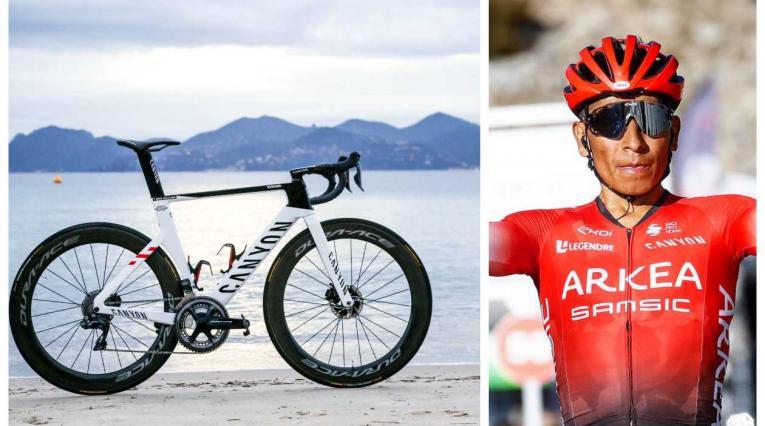 Bicicleta de Nairo Quintana para 2021