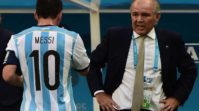 Messi y Sabella