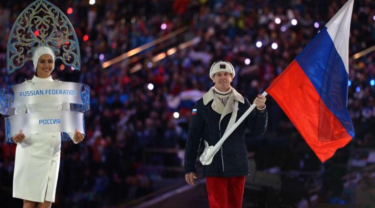 Atletas de Rusia