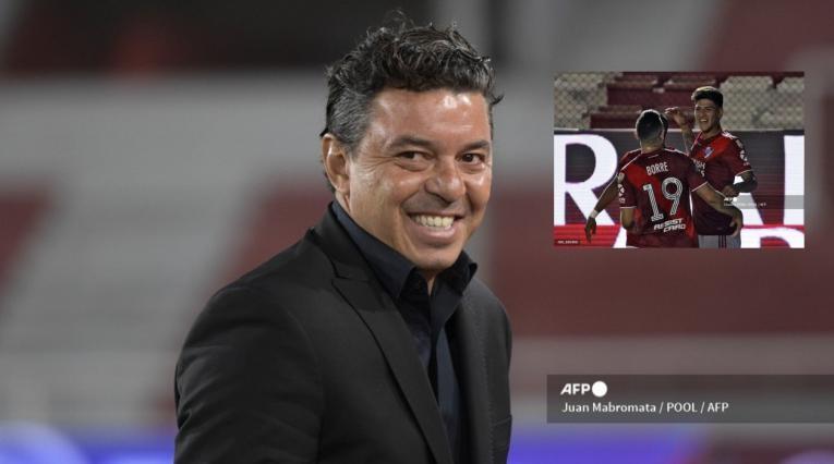 Marcelo Gallardo, Borré y Carrascal