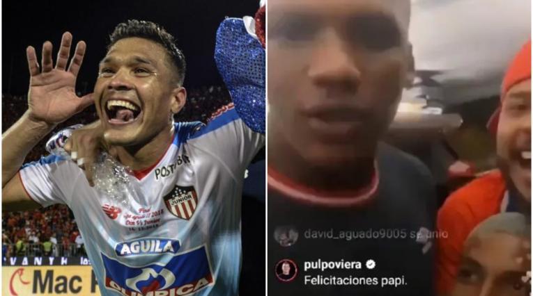 'Teo' Gutiérrez y jugadores del América