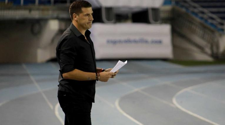 Juan Cruz Real, técnico de América de Cali